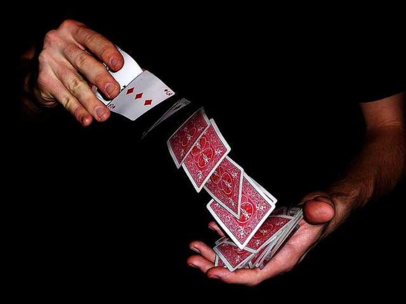 Thủ thuật sắp xếp bài rất khó để người người chơi phát hiện ra